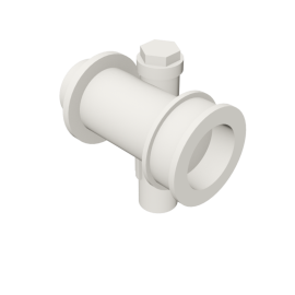Valsir Pexal EASY Modular manifold with offset cold water