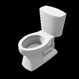 Unspecified Toilet floor model