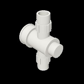 Valsir Pexal EASY Cross modular manifold hot water