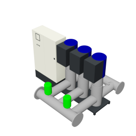 DP-Pumps HU3 Utility Line DPVF125 SVP Cabinet D