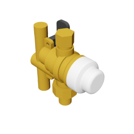 Caleffi SinkMixer™ Scald Protection Point-of-Use Thermostatic Mixing Valve (3-way)