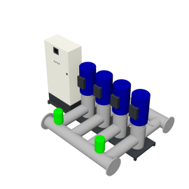 DP-Pumps HU4 Utility Line DPVF125 F