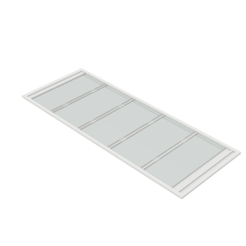 Minkels High Transparency Roof Panels