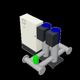 DP-Pumps HU2 Utility Line DPVF125 SVP Cabinet D