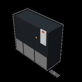 STULZ CyberAir 3PRO DX: Upflow Hybrid GE 2-circuit