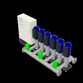 DP-Pumps HU6 Utility Line DPVF40-85 SVP Cabinet D