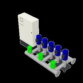 DP-Pumps HU5 Utility Line DPVF25 VC Cabinet D