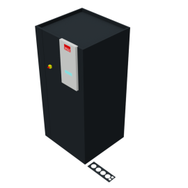 STULZ CyberAir 3PRO DX: Downflow Hybrid GES 1-circuit
