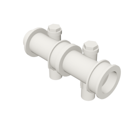 Valsir Pexal EASY 2-way modular manifold with offset cold water