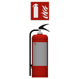 Saval Foam extinguishers