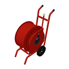 Chubb Fire & Security Duo wheeled hose reel