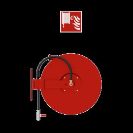 Chubb Fire & Security Fire hose reel swiveling mounted