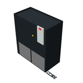 STULZ CyberAir 3PRO DX: Upflow A 2-circuit
