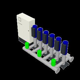 Duijvelaar Pompen HU6 Utility Line DPVF25 SVP Cabinet D