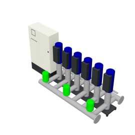 DP-Pumps HU6 Utility Line DPVF25 SVP Cabinet D