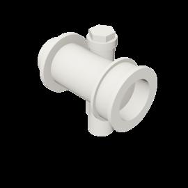 Valsir Pexal EASY Modular manifold with offset hot water