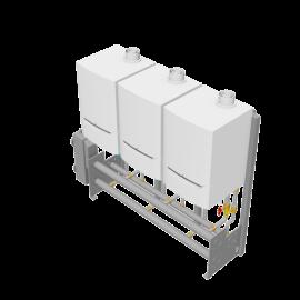 De Dietrich Thermique Export - Cascade 3x Evodens Pro-45-115 - Freestanding