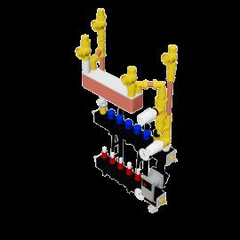 Therminon Composite unit model OEM LTV gescheiden systeem verwarming/koeling